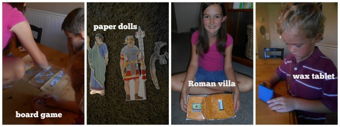 ancient rome activities