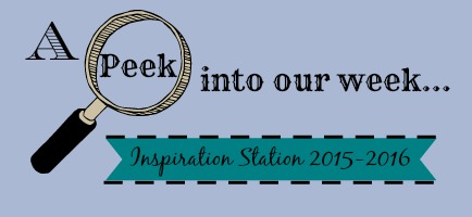 a peek into our week 2015-2016