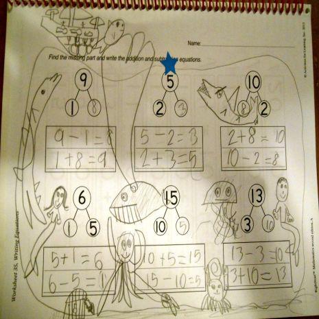 math doodles